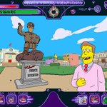Image for the Tweet beginning: THE SIMPSONS: VIRTUAL SPRINGFIELD -