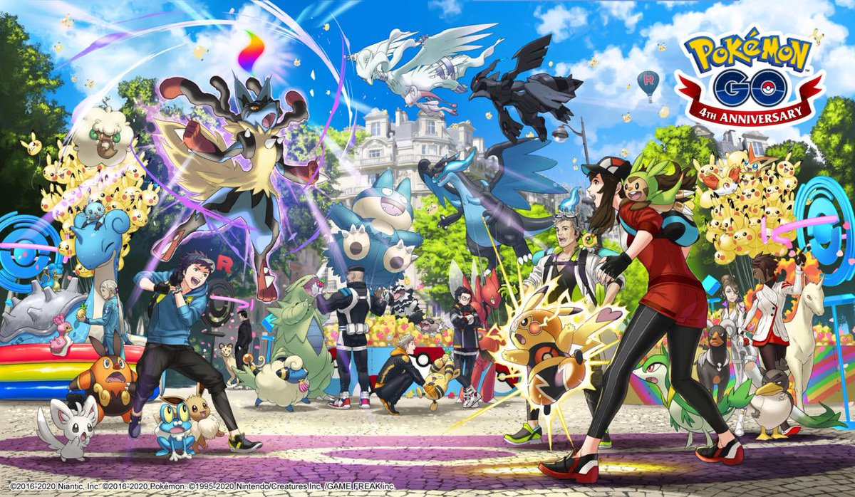 Pokemon Go Anniversary Art Teases Gen 6 Pokemon And Mega Evolutions  https://t.co/ltgCwTRdtc  #game #PokemonSwordShield #Pokemon #Anniversary #gaming #gamedev #games #news https://t.co/qlvZ78EsE1
