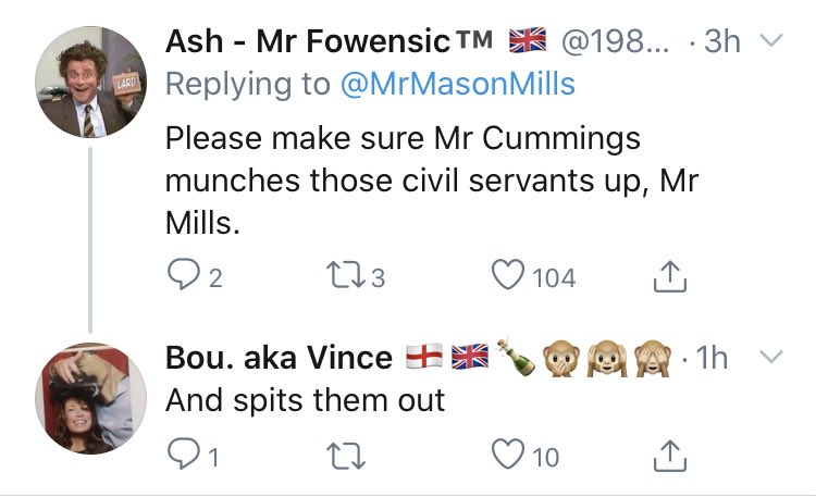 """@FreeQuayBuoy """"Getting more Brexiters in the civil service will somehow improve my tangibly shit life"""""""