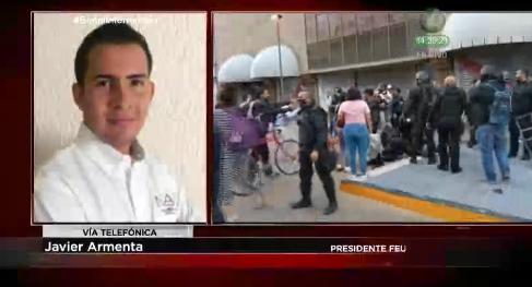 #SeñalInformativa 📺📻 || @JavierArmentaMX Presidente @FEU_UdeG que nos cometa sobre los avances de la investigación de los levantones que se hicieron por las protestas del caso #giovannilopez hace ya un mes. https://t.co/1vMC4QppPM