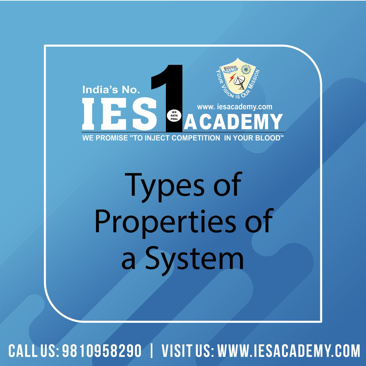 Types and Examples of the properties of a system  #IESAcademy #Gate2020 #Gate2021 #StudyNotes #techgadget #technologyblog #technologyisawesome #gadgetgoals #gadgetlife #engineerlife #mechanicalengineers #engeneering #manufacturing #collegestudentpic.twitter.com/fcK01ruUUw