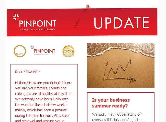 For marketing advice and tips, please feel free to sign up to the Pinpoint Marketing monthly newsletter #sbswinnershour https://t.co/IRmSiKXVAb https://t.co/tCK0PCESqD
