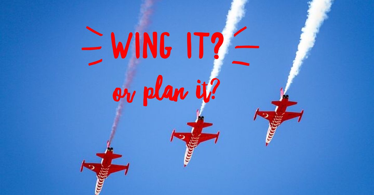 Are you a wing it or plan it kind of business owner? I am most certainly a planner! Strategy and tactics are my niche! #sbswinnershour https://t.co/OARxPspqqM
