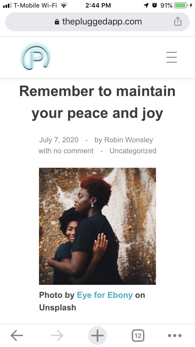 """""""There will always be external forces that will make demands upon you and your time...It's upon you to protect and affirm what brings you peace & joy."""" - @RWonsley   The latest from Views from the Revolution!  #BlackLivesMatter #joy #peace #BLM   Link: https://t.co/g2zaWmTKJX https://t.co/RQllJhAfSg"""