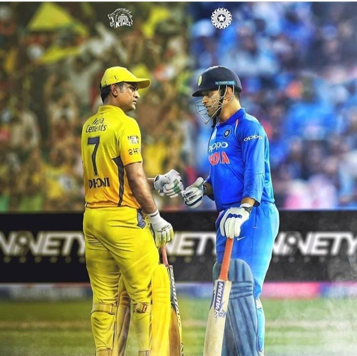 2 Different  Journey of  One Man in One frame  @msdhoni Sir  #ChennaiSuperKings #Icc<br>http://pic.twitter.com/RksX09AT6B