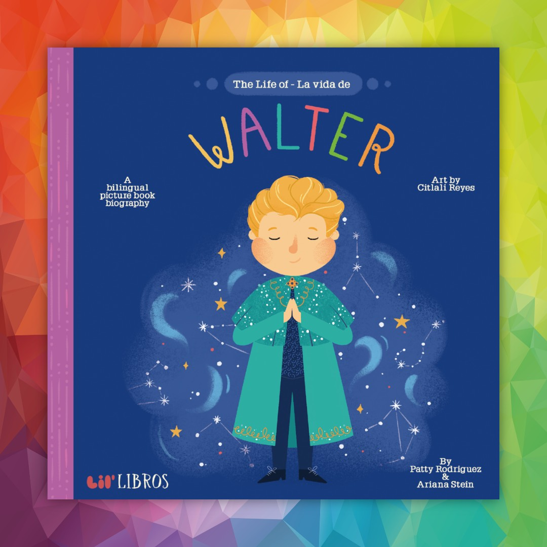 #WalterMercado: best known for his tv shows on astrology from the '80s to 2000s. Walter's inspiring story premieres on @netflix tomorrow: #MuchoMuchoAmor.  . Then, coming soon from @lil_libros is the bilingual book: Life of Walter! . @NetflixLAT #pridemonth #bilingualbooks pic.twitter.com/jMld6sWXYZ