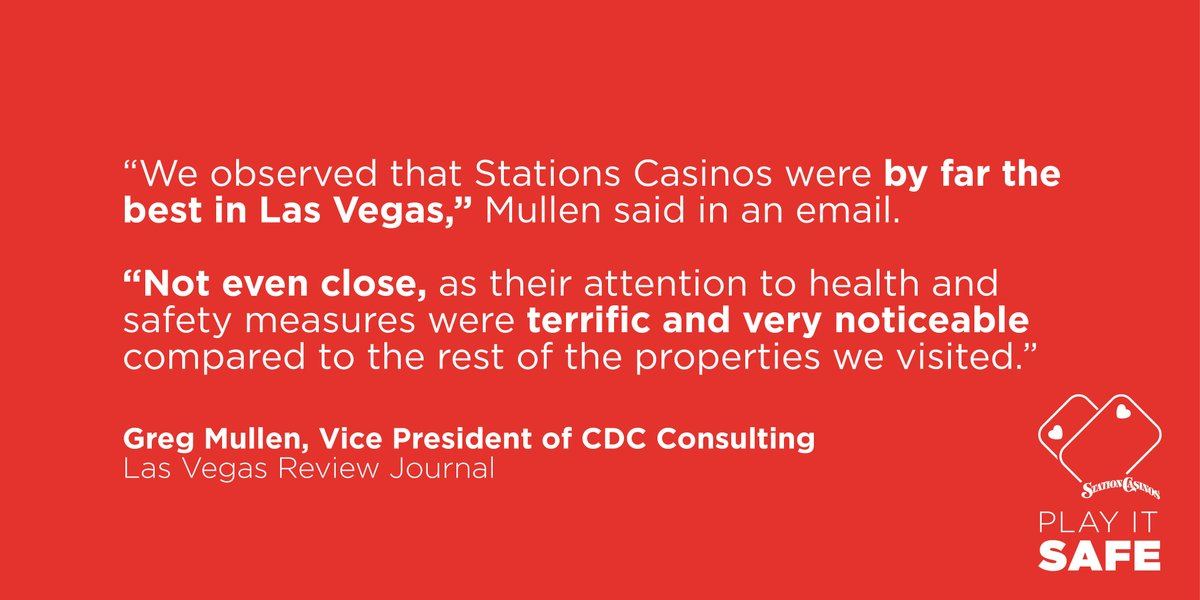 We are proud of the steps we've taken to ensure our guests and team members are safe.   Article via @reviewjournal: https://t.co/kY446ilhBH https://t.co/JEscmj0uoO