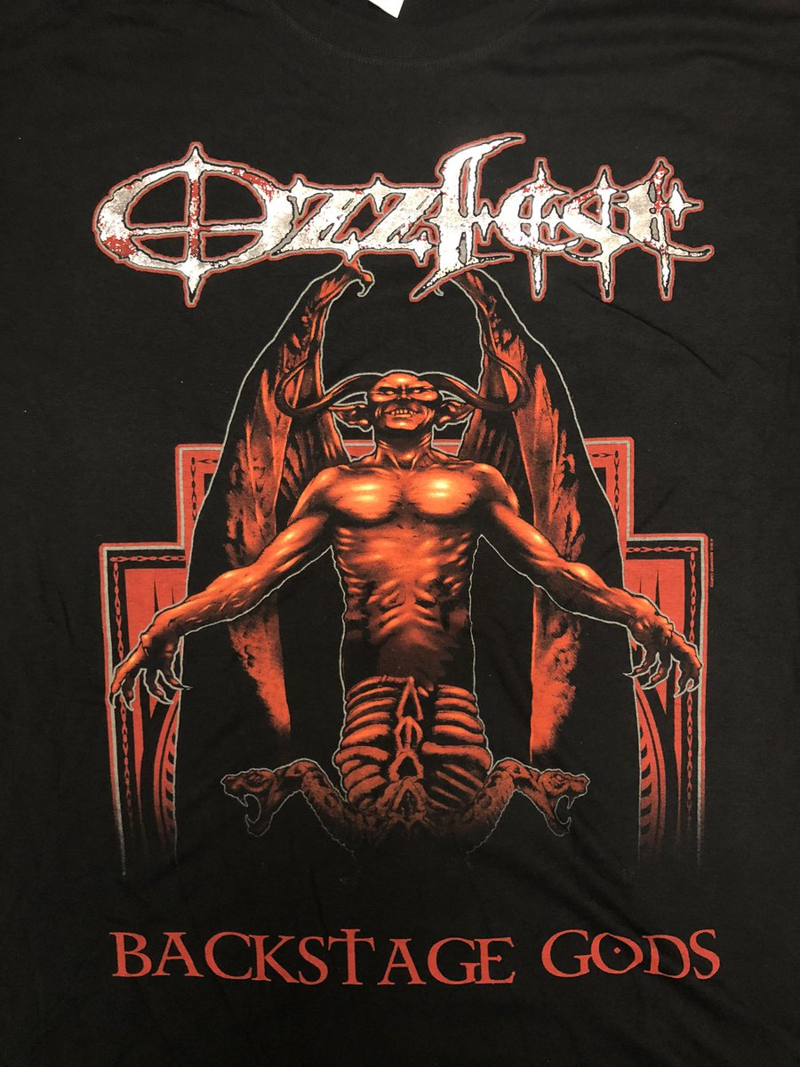 Just found a few #OzzFest 2008 VIP Package Backstage Tour Shirts!! Very rare find!! stores.ebay.com/ozzfest