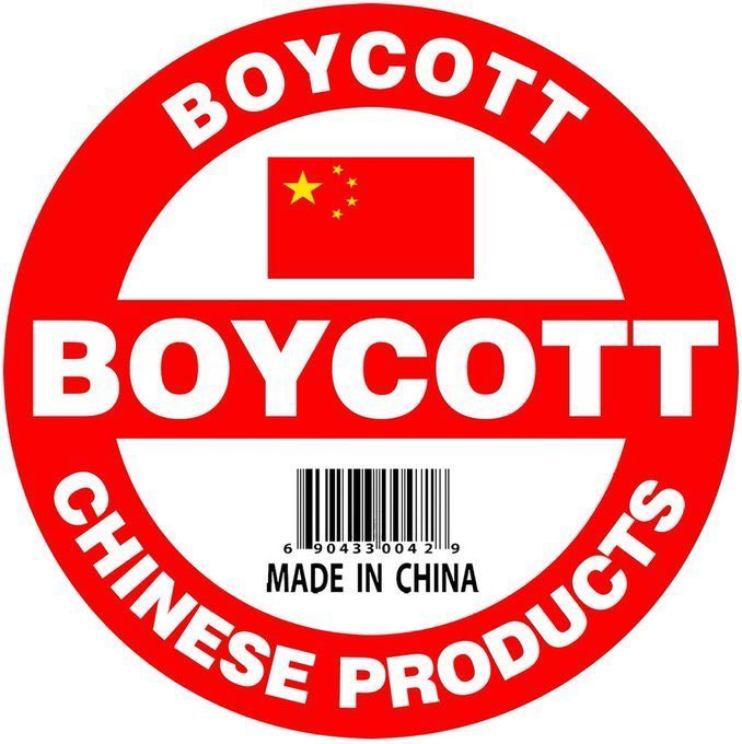 #BoycottChina #China is a rogue nation that harvests and sells the organs of their healthy political prisoners and uses slave labor from concentration camps to export its manufactured goods. #HumanRights don't exist in Communistic China! https://t.co/ajNLyHO4LM https://t.co/aOOLM2qfUB