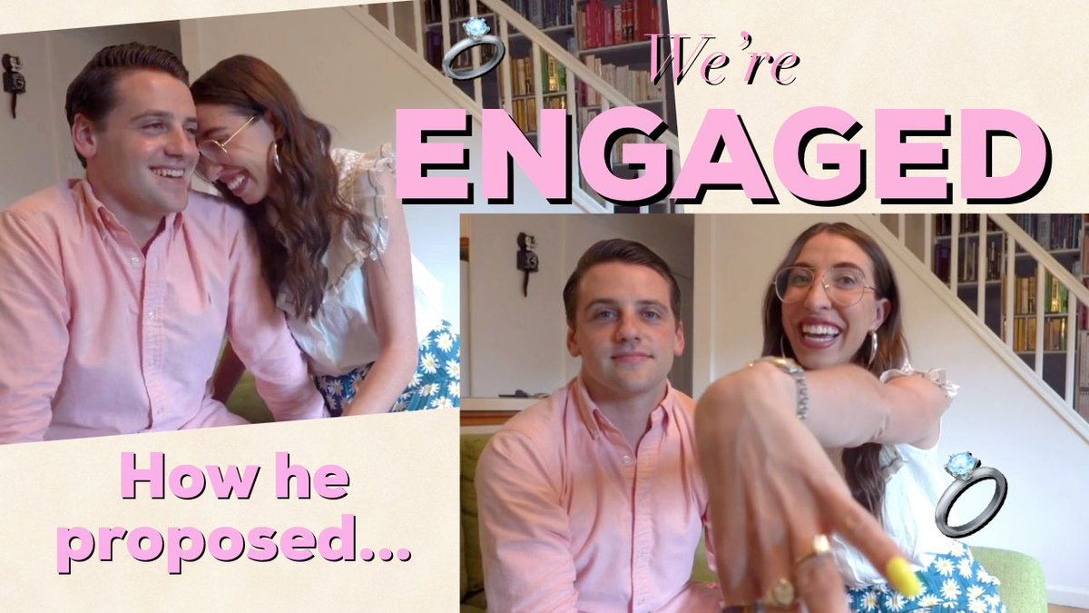 It's finally live!!! Our full engagement story just went live on my YouTube channel...thank you all for your love and support over the past week! #engaged #engagement #isaidyes #bridetobe #engagementring #engagementstory @brides @theknot   https://youtu.be/g4MXRemcWcgpic.twitter.com/K0GaZsKNOy – at New York City