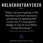 Image for the Tweet beginning: #BlackoutTuesday #BlackoutDay2020
