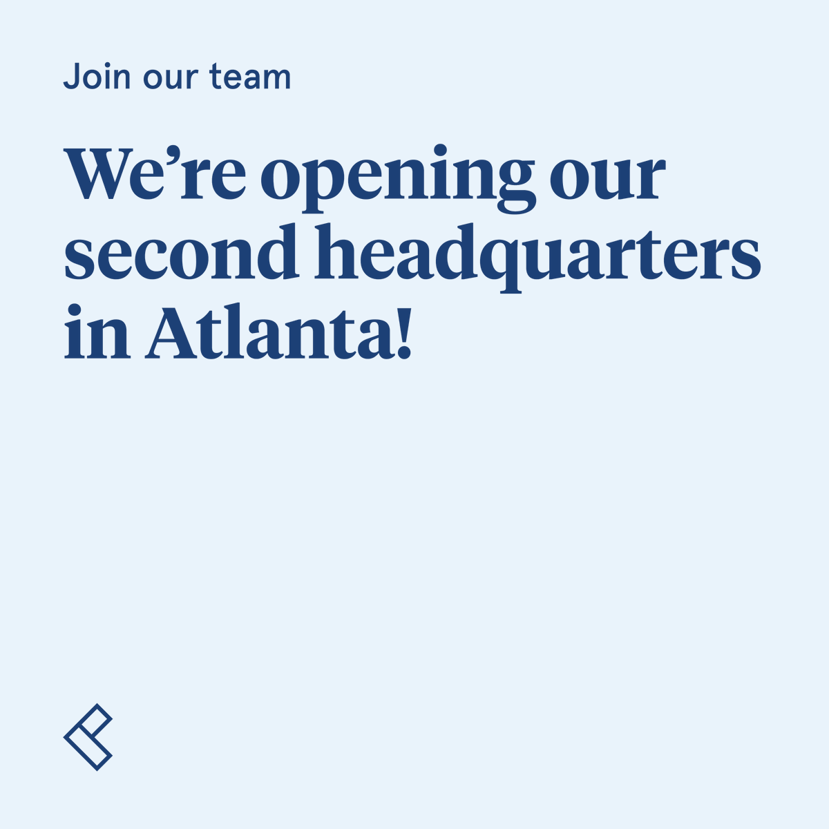 Were proud to be opening our second headquarters in Atlanta, a city we love for its vibrant community and history of innovation. If you call Atlanta home and want to work for Common, were hiring! Head to our Careers page to explore our open roles: bit.ly/38B8BSF