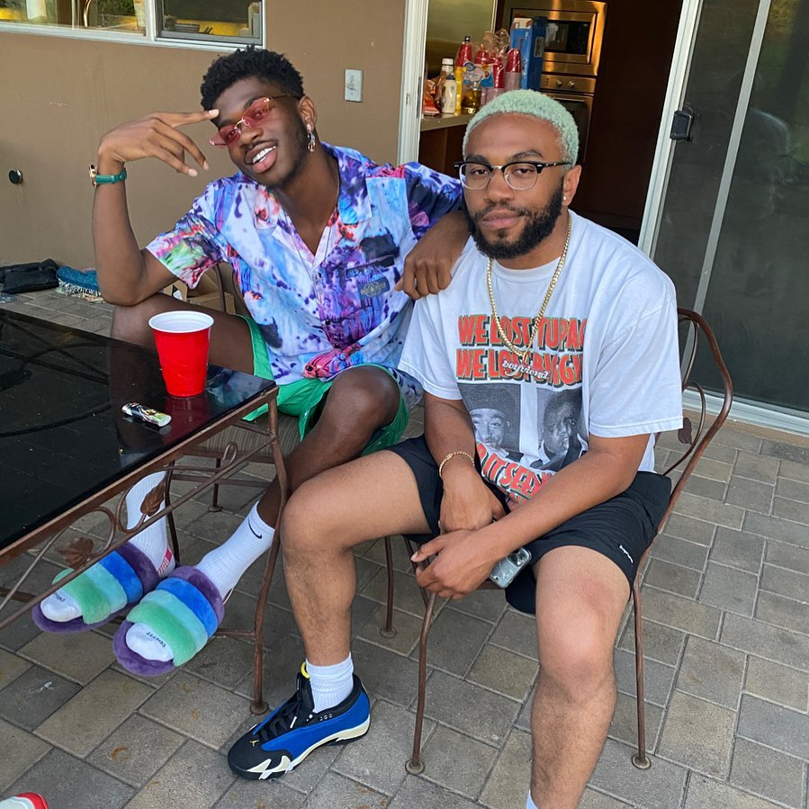 I would like to tattoo this pic of @LilNasX and @kevinabstract to my face.