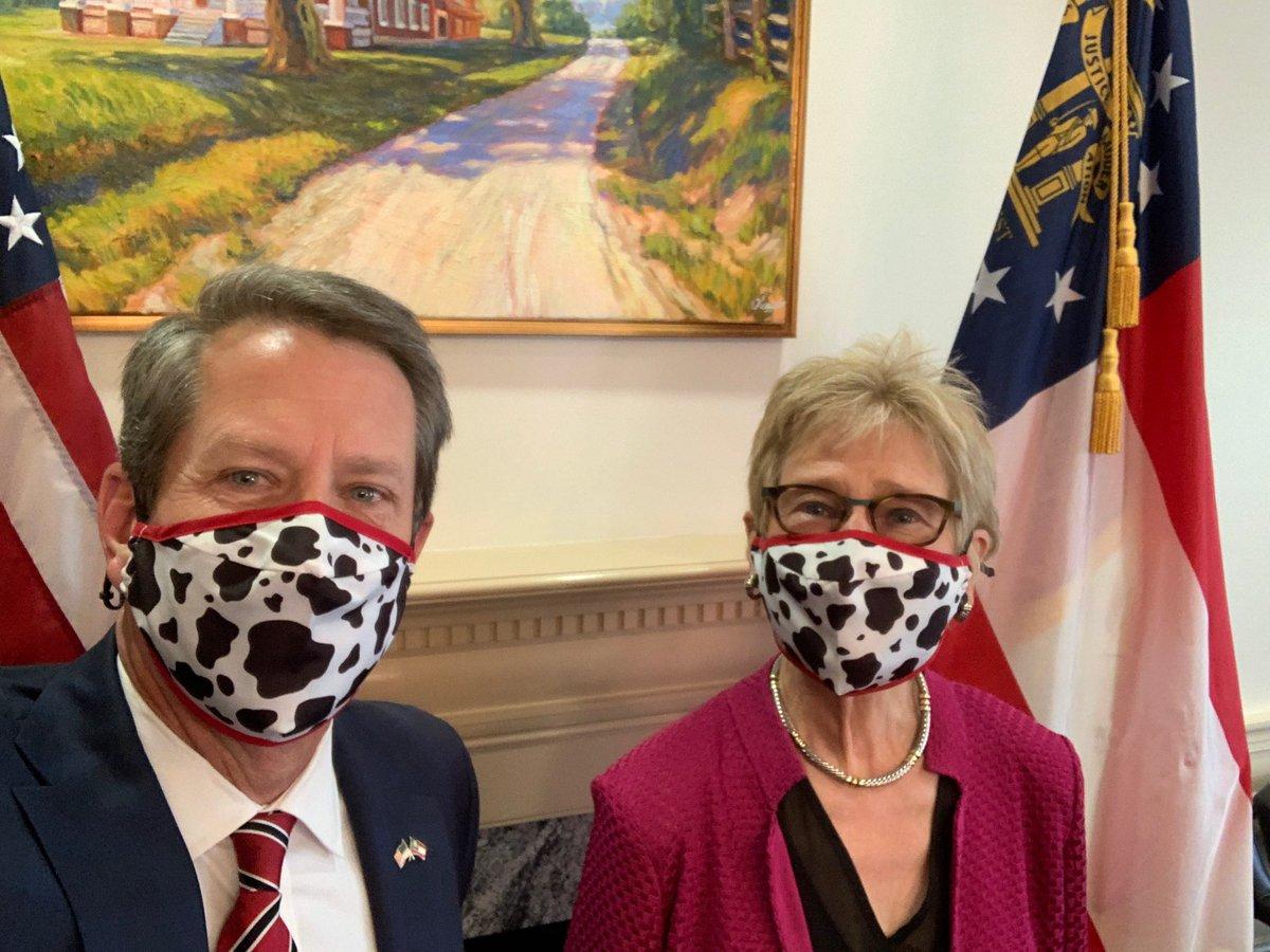 Wear a mask - and #EatMorChikin, Georgia!