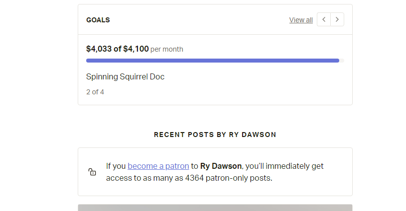As promised, my reports were successful, notorious Jew hater, Ryan Dawson, finally banned from Patreon, where he was making $4k  / month   Dawson even targeted me with anti-Jewish hate, made a ranting video with echos around my name (((   )))  THREAD w/ evidence of Dawson's hate https://t.co/mc6EC7TacZ https://t.co/Tvk55SiaIv