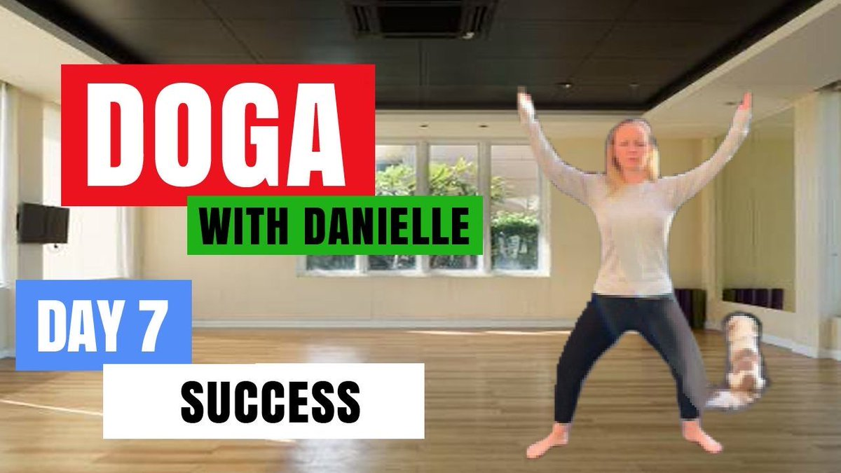 Day 7 - Success • #DogaWithDanielle.  #ChildOfGod #ChildOfGodTeam #ChildOfGodMovement #Doga #Yoga #Movement #Breathe #Breathing #Health #Fitness #Malshi #Shitsu #Maltese #Dog #DogLover #LucyTheMaltese #MentalHealth #Spirituality #ComeTogether #Success  https://t.co/LQLL7Hgry2 https://t.co/es64eLZmTP