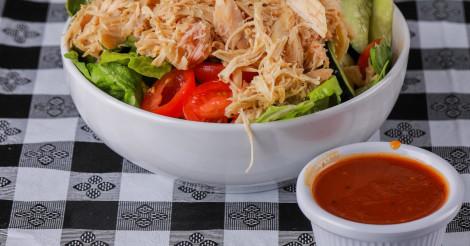 Garden Salad w/Pork or Beef or Chicken.pic.twitter.com/m2X9zIhFxa
