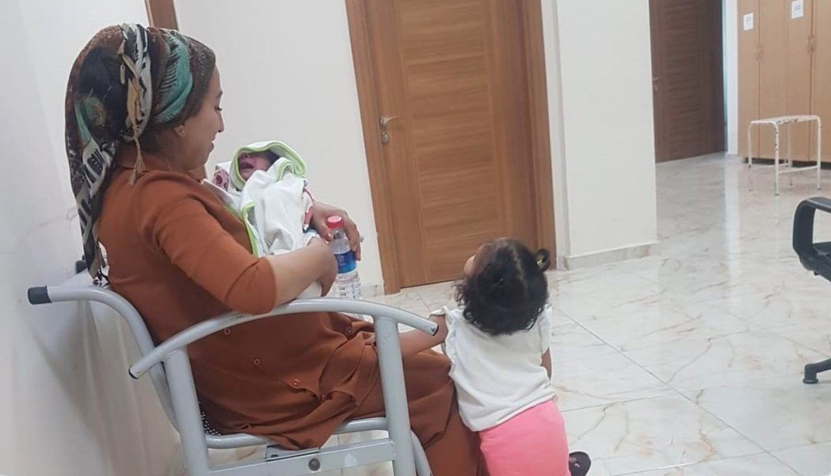 A young Kurdish mother is sent to jail in Turkey with her 2 year old daughter & 10 day old baby. She has applied to authorities to name her baby, Omêdya, which means hope in Zazaki, Kurdish dialect. Such a beautiful name in such an ugly situation. I love Omêdya. #Justice4Kurds