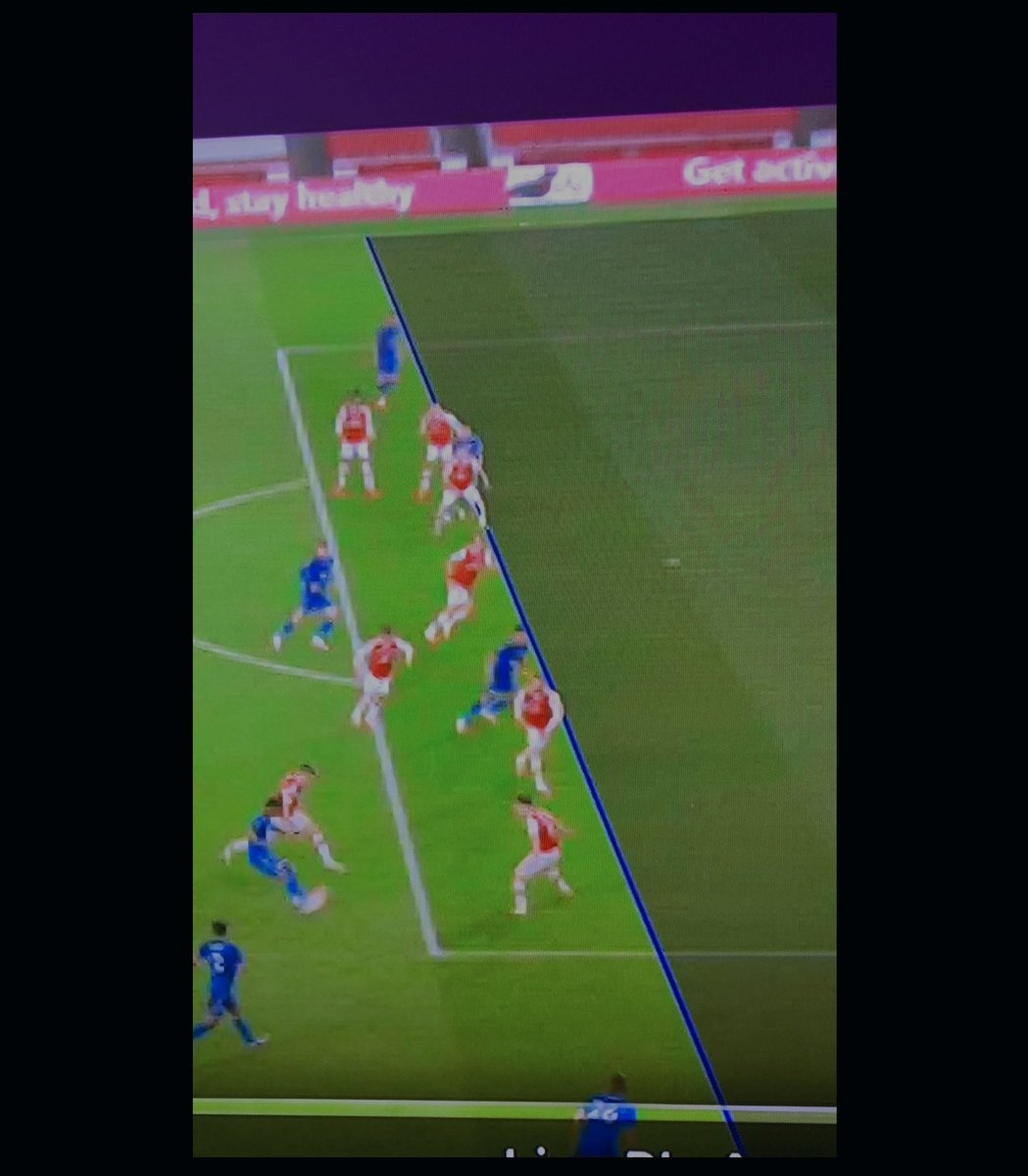 In all seriousness though how has this not been spotted? Vardys whole shoulder is clearly offside. So fucking frustrating having to watch these abysmal officials week in, week out.
