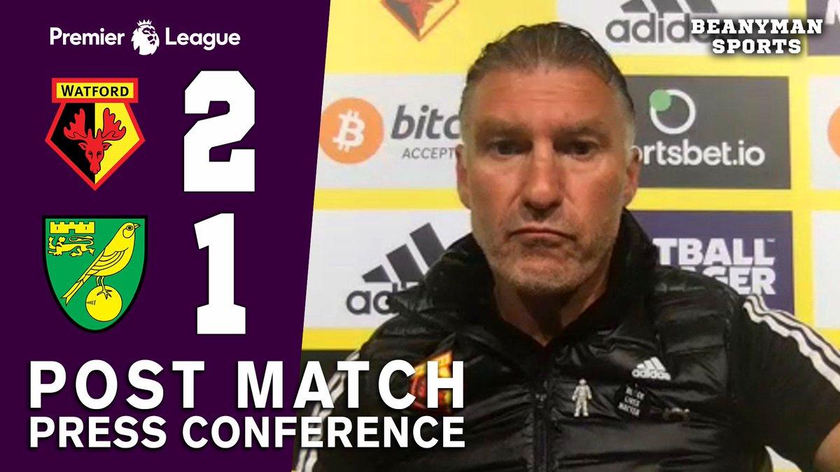 VIDEO - Watford 2-1 Norwich - Nigel Pearson FULL Post Match Press Conference - Premier League https://t.co/yH2Kz9Llhk PLEASE SHARE! https://t.co/chq9NdOykw