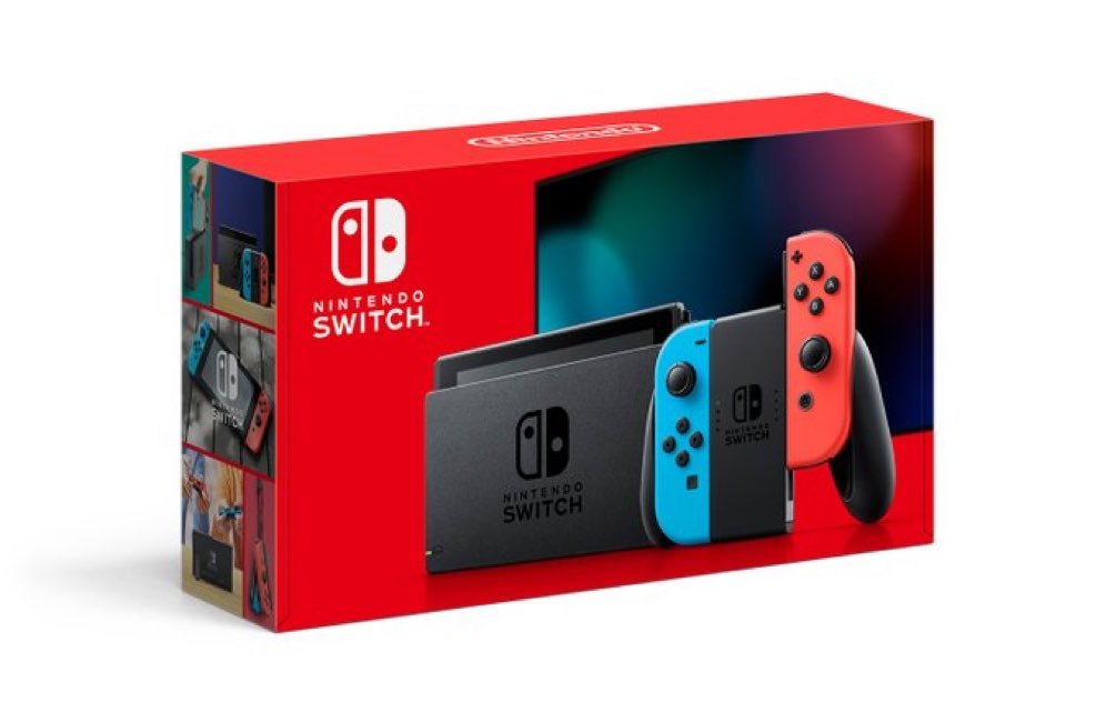 Nintendo Switch Gray up at Walmart ($299) bit.ly/30qxEWB Neon bit.ly/2xoBZNm