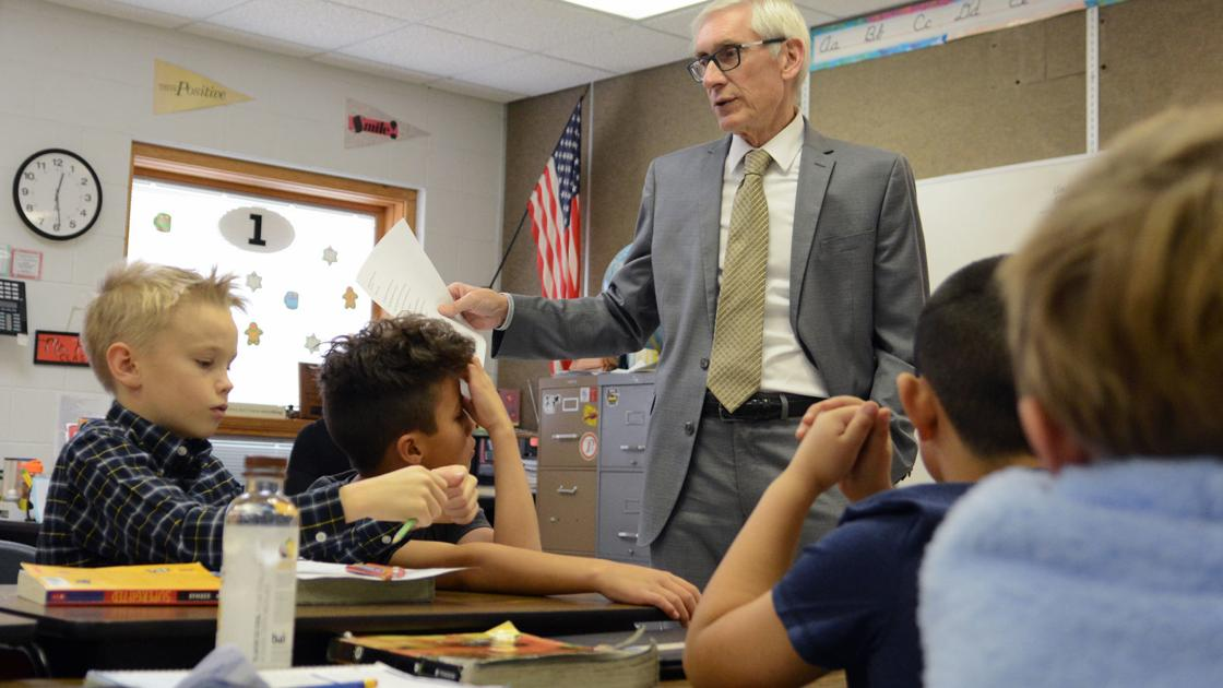 Gov. Tony Evers hopes to steer clear of another statewide K-12 school closure dlvr.it/Rb8gbf