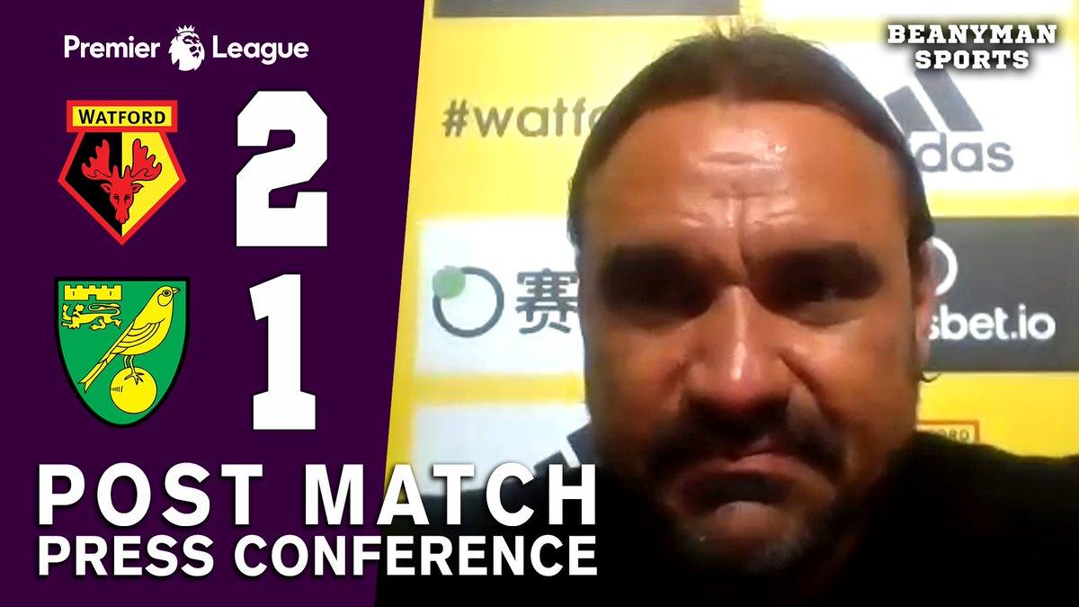VIDEO - Watford 2-1 Norwich - Daniel Farke FULL Post Match Press Conference - Premier League https://t.co/0fYYvPwtrS PLEASE SHARE! https://t.co/zXP8lYQ93G