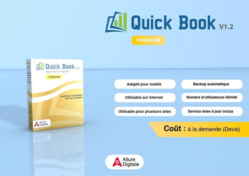Avantages Quick book  Votre #logiciel de #comptabilité selon norme #ohada. Pour les PME, les grandes sociétés et organisations. Développé par #alluredigitale  Contact :+243810039254 https://t.co/A1WM4fr5cI