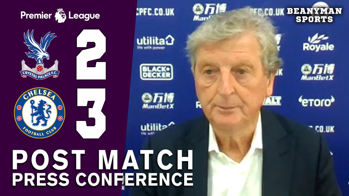 VIDEO - Crystal Palace 2-3 Chelsea - Roy Hodgson FULL Post Match Press Conference - Premier League https://t.co/N32OtDCXqH PLEASE SHARE! https://t.co/RgMhQ0jYcc