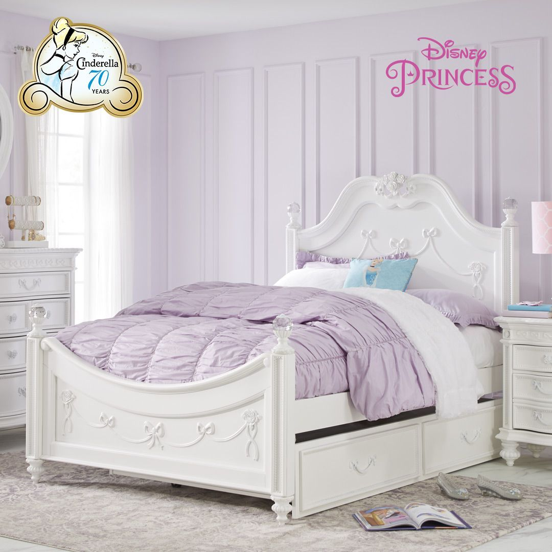 Rooms To Go Kids On Twitter Celebrate 70 Years Of Cinderella With A Room Revamp For Your Little Princess Shop Our Disney Princess Collection Today Watch Their Fairytale Come To Life