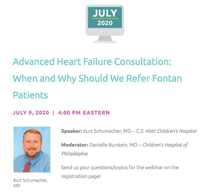 Today is the last day to register for our virtual #LearningInAction session on when and why should we refer #fontan patients. Registration is free and open to anyone: https://t.co/Y7H9hXOvRU @CardiacUnited @CCFheartkids #PedsHF https://t.co/01wCAQrWj2