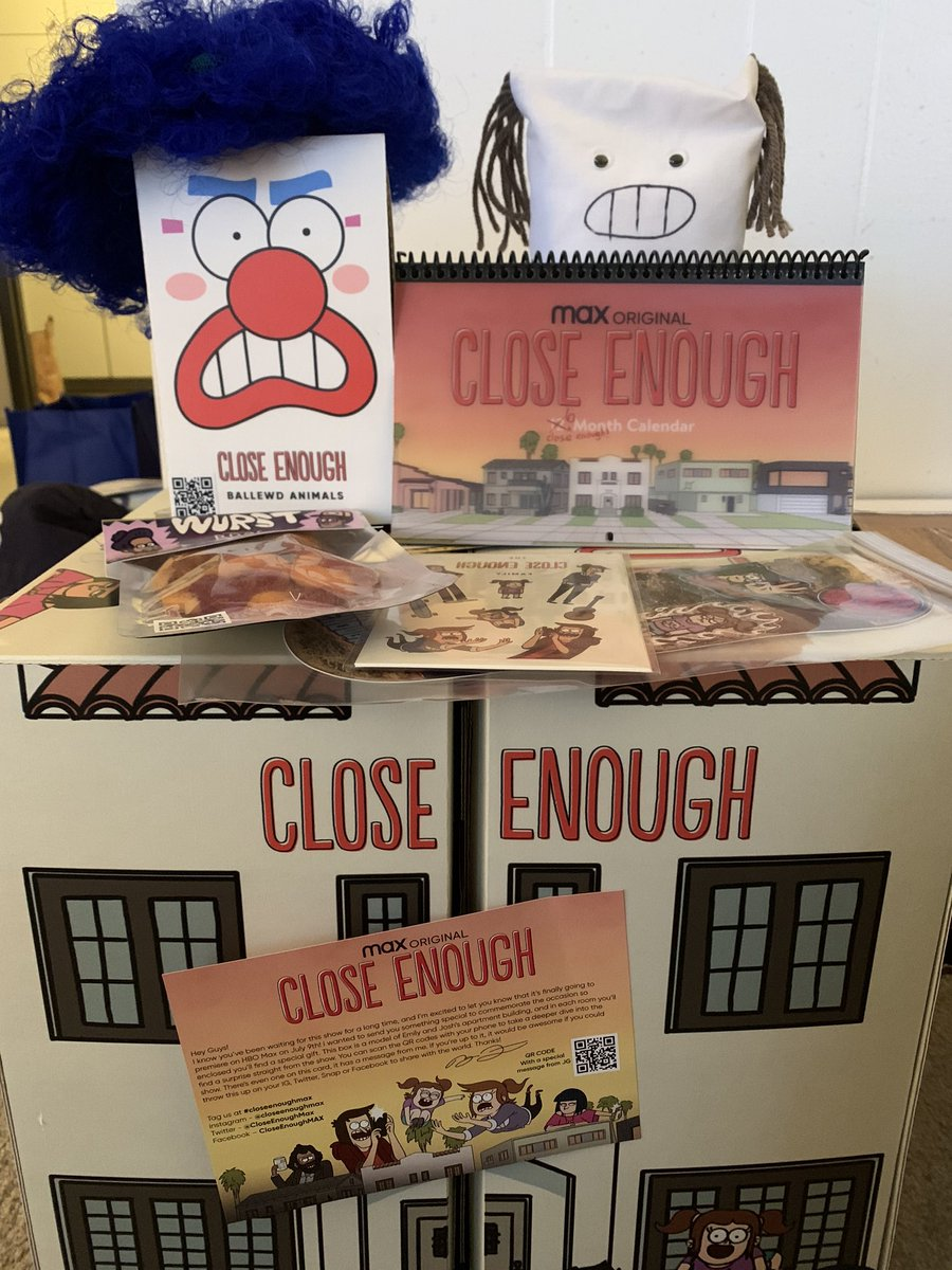 Calling all fans of Regular Show!  #CloseEnoughMax is from the mind of J. G. Quintel, and we need more of his humor in our lives ASAP.  Premieres on #HBOMax July 9. https://t.co/FeDAXcOpAm
