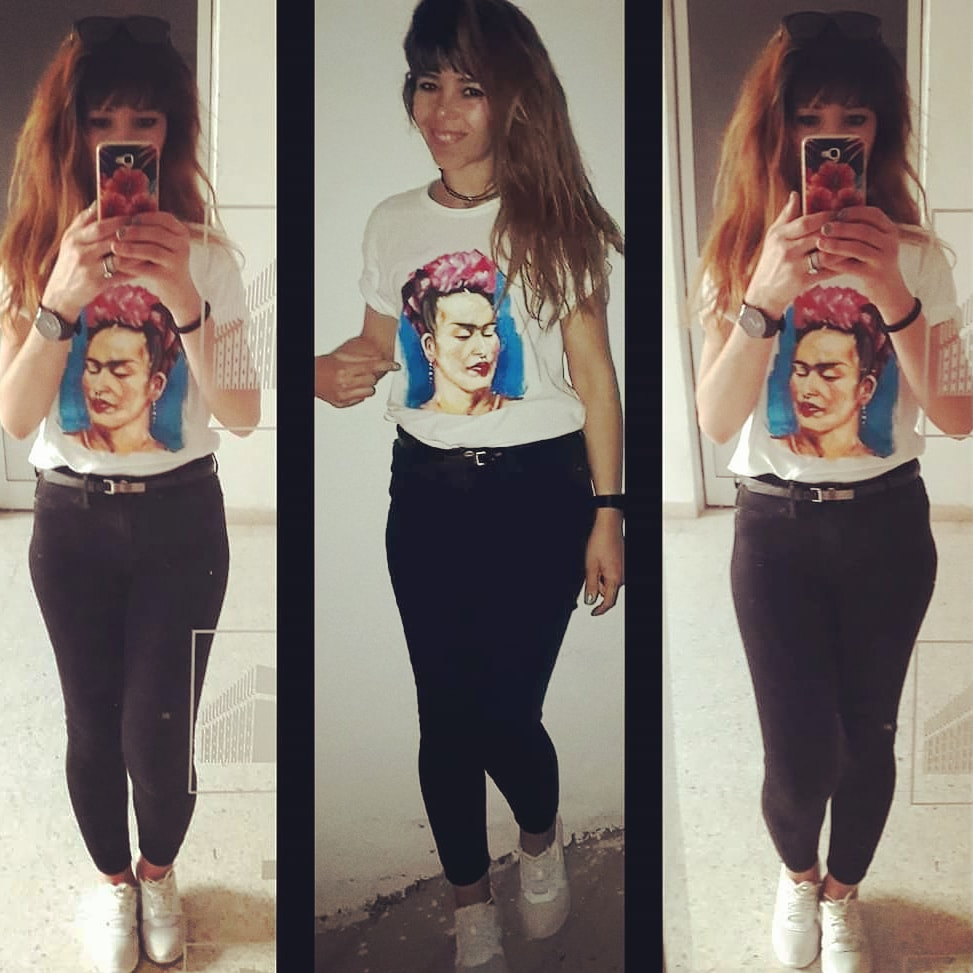 #likeforfollow #followback  #followme #peinture #artist #FridaKahlo #instagood #following #instalike #follower #tshirt #likeforlike #artwork #FridaKahlo #likeforlikeback #artist #picoftheday #likelike #followtrain #followforlike #art #followbackinstantly (c) by @naimaartista pic.twitter.com/yDPoTlZqIG