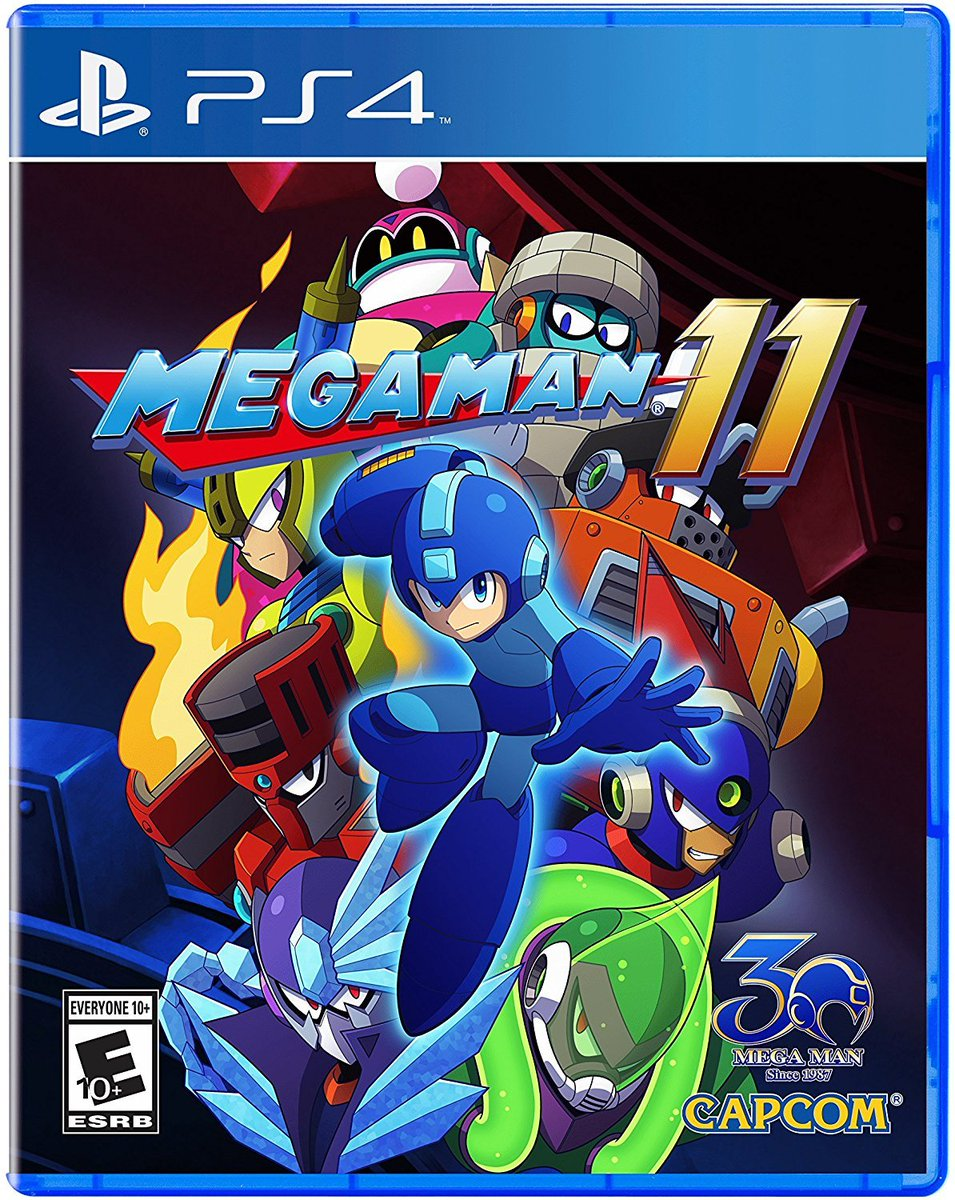 Mega Man 11 (PS4) is $12.99 on Amazon amzn.to/2FC9Upx