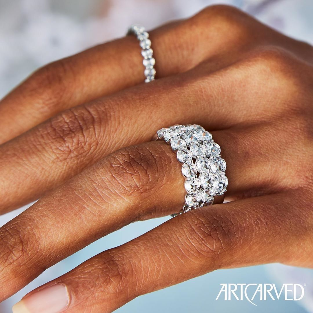 Rose Cut stackables are perfect for any occasion #UndeniablyTheOne #RoseCutStackables #RoseCutAnniversaryRings • • • #diamondring #engagementring #diamondrings #weddingrings #bridetobe #fiance #weddings #rings #engaged #diamonds #celebratinglovepic.twitter.com/axf3BX98J9