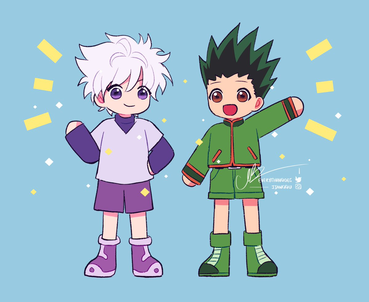 i haven't watched hxh but i know they're very good 🅱️ois