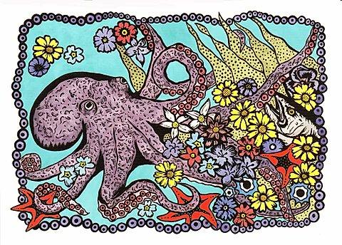 Yo quiero estar, bajo el mar, en el Jardín del Molusco con Jis! Un árbol ya, para abrazar. En el Jardín del Molusco con Jis. https://t.co/SzwnTcNG9Q