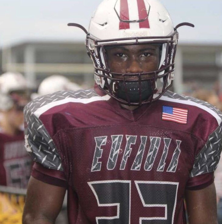 """COMMITMENT TRACKER: Eufaula (Okla.) RB Noah Alexander joins #ArmyFootball 2021. Alexander on his decision: """"Army feels like a special place, the staff has heavily recruited me and for me, I personally like being a leader and doing things others may not necessarily want to do."""""""