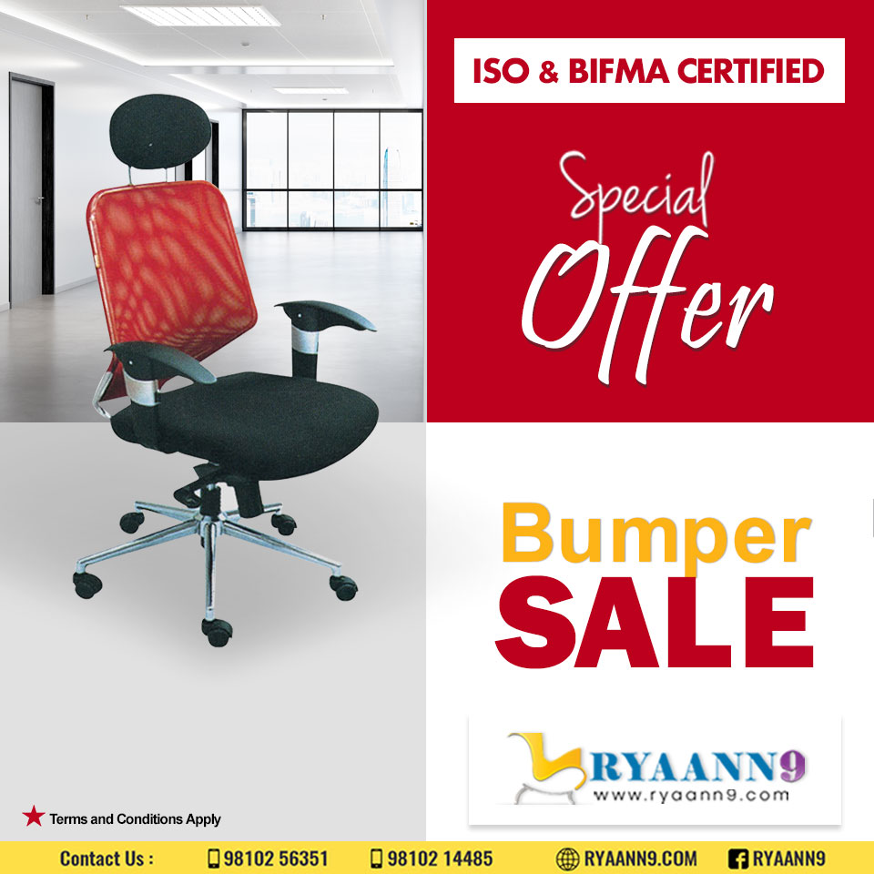 Let your style make an impression on people. Fill your office with beautiful furniture. . . . #RYAANN9 #MAHLAXMI #OfficeChair #NetChair #WORKSTATIONCHAIRS For further information please visit us: http://www.ryaann9.com   CALL US: 9810256351, 9810214485  Email: mahlaxmi9@gmail.compic.twitter.com/Q2Q5G5uSps