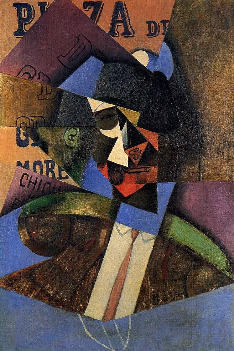The Bull Fighter, 1913 #syntheticcubism #juangris <br>http://pic.twitter.com/8NFTrAYBOu