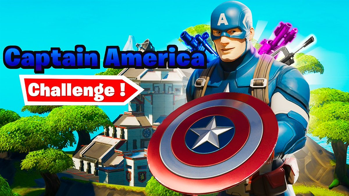 Guys my latest video is up, so go check it out and remember to subscribe if you enjoy the content .  #captainamerica #fortnitevictoryroyale #fortnite #fortnitechallenges #FortniteBattleRoyale #FortniteSeason3 #4thofJulypic.twitter.com/9KjDQkArDq