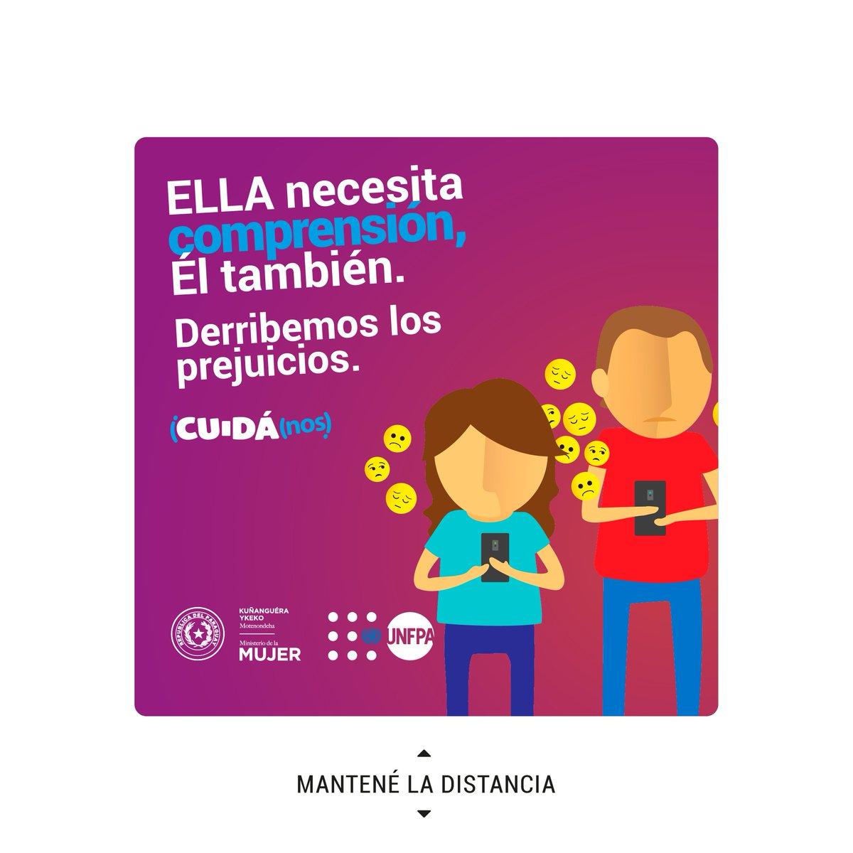 🙌🏼Ante el #COVID19, todos somos vulnerables y necesitamos ayuda.   @minmujerpy #CUIDÁnos https://t.co/XvdyBQG9zB