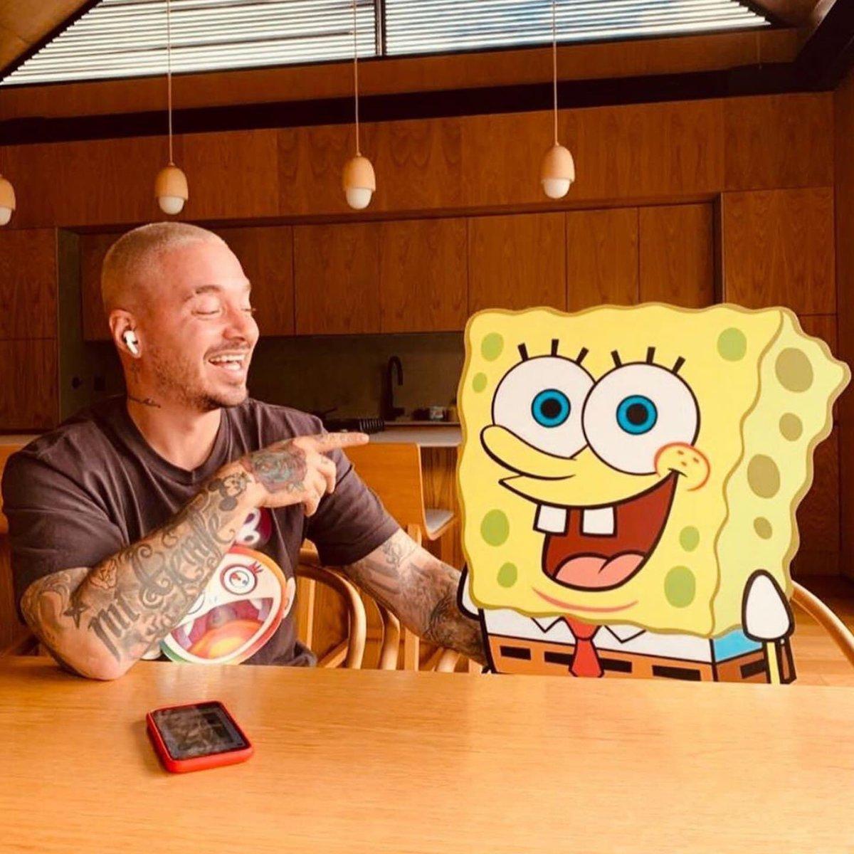 #AGUA - Jueves / Thursday #JBalvin @JBALVIN LatinoGANG@SpongeBobMovie  @Neon16_  @SpongeBob @ParamountPics @Nickelodeon @Tainypic.twitter.com/uzVaPEmkZM