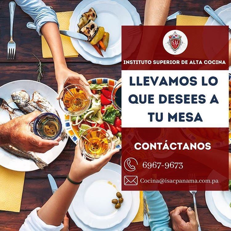 🇵🇦ISAC PANAMÁ 👊🏽🧑🏽🍳 ‼️Te brinda el primer Restaurante 100% a tu gusto! 🍴Crea tu propio menú.  🕓 Pide lo que desees comer con 24 horas de antelación... 🍽Y nosotros nos encargamos de tu antojo!! 🚘Lo que se te apetezca comer a la puerta de tu casa. 📲+50769679673 https://t.co/fKE2olEOZs