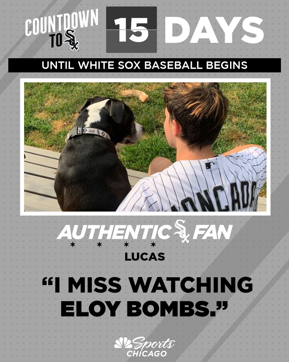 Hopefully we see many Eloy bombs soon 🔥  15 days. #AuthenticFan 🖤 https://t.co/8xGtoPzWcH