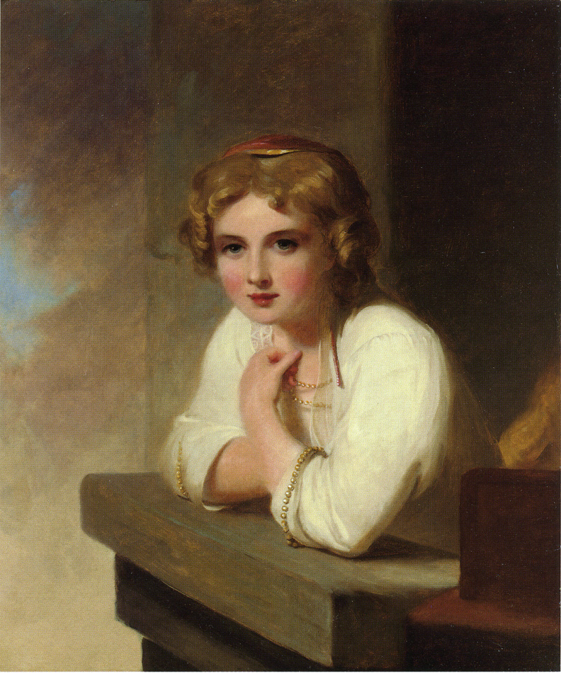 RT @ThomasSullyArt: Peasant Girl (after Rembrandt's 'Young Girl Leaning on a Wiindowsill'), 1866 #romanticism #sully https://t.co/8gFzumXfdE