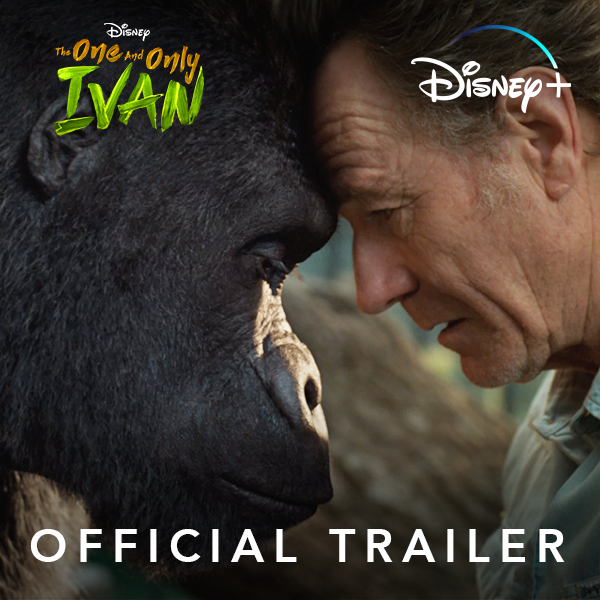 """""""We're family. We're in this together."""" The One and Only Ivan is streaming exclusively on #DisneyPlus starting August 14. Follow @IvanMovie for more!"""