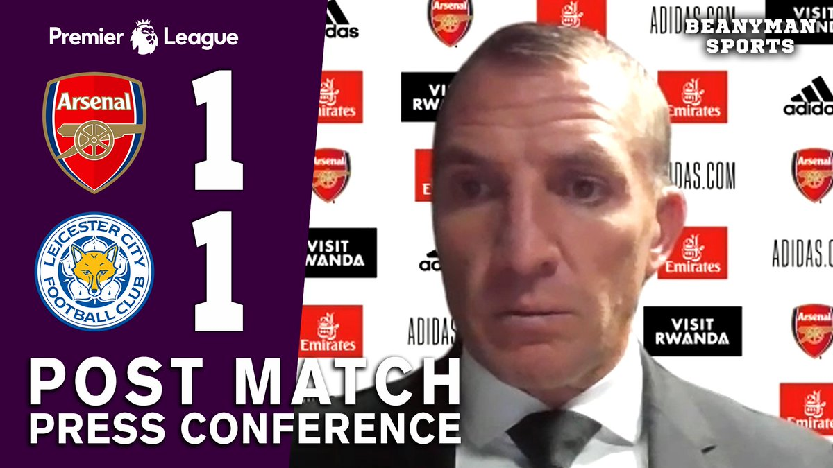 VIDEO - Arsenal 1-1 Leicester - Brendan Rodgers FULL Post Match Press Conference - Premier League https://t.co/FoNwRcxHby PLEASE SHARE! https://t.co/W0XBSTy3Yf