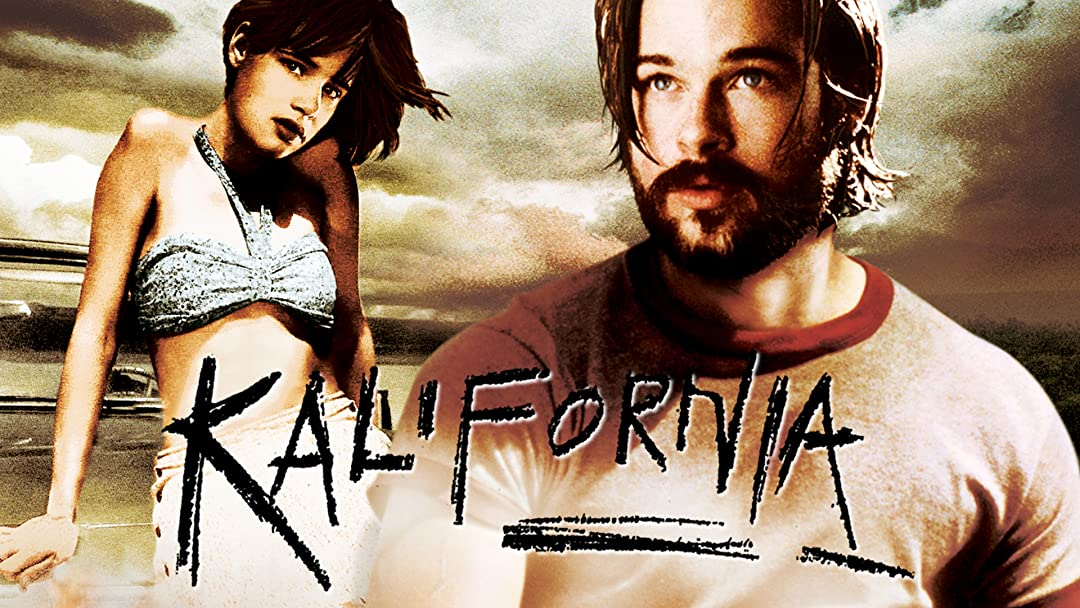 """Saw the grungy road trip thriller, """"Kalifornia."""" Bad title, but a fun movie with some stellar acting. Most of the buzz went to Pitt, but for me it's Juliette Lewis who steals the show as his developmentally-delayed accomplice. Check it out. #MovieReview <br>http://pic.twitter.com/zLyOPbzeRz"""