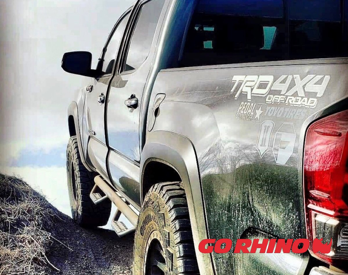 Taco Tuesday! Check out this taco rocking our Dominator D2 side bars. Owner @anthraxite_trd_rhyno #tacotuesday #tacosarelife #tacolivesmatter #Offroad#trd#Toyota#Tacoma#ToyotaTacoma#4x4#tundra#toyotatrucks#customtruck#customtrucks#toyotatundras#liftedtrucks#4x4offroadpic.twitter.com/XDFO0szEAx